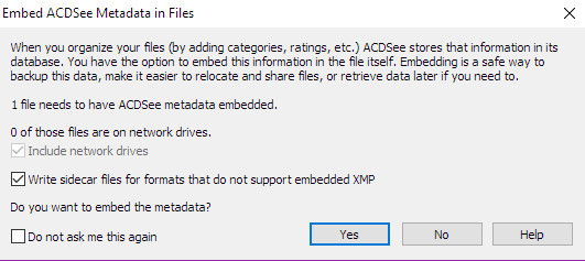 how can i use my old database from acdsee pro 7 in acdsee