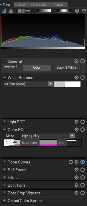 Corrupted Design palette